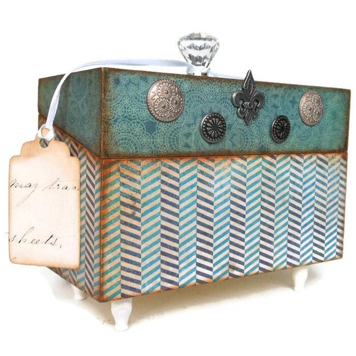 Decorative Recipe Box 2: Recipe Box Decorative Storage Box