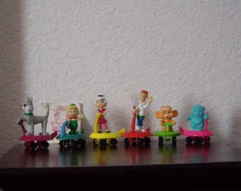 The Jetsons Happy Meal/Fast Food Toys. Complete set