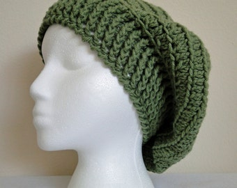 Crochet Olive Adult Slouch