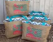 7 Eco-Friendly Custom Tote Bags - Handmade from Recycled Coffee Sacks