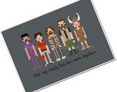 The *Original* Pixel People - The Big Lebowski - PDF Cross-stitch Pattern - INSTANT DOWNLOAD