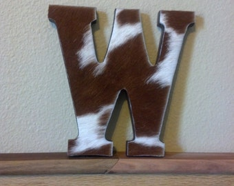 Way Out West- Custom Wooden Wall Letters- 8 inch. Makes a great gift for any age!  Purchasing single letter listing.