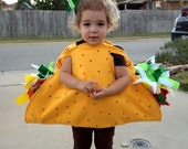 Tutorial for Felt Taco Costume - As Seen on Pinterest - Taco Costume Tutorial by Sievers Studio Christmas