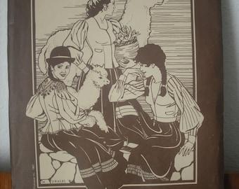 Bolivian Milkmaid's Jacket - Folkwear Ethnic Patterns 124 (uncut) Costume?