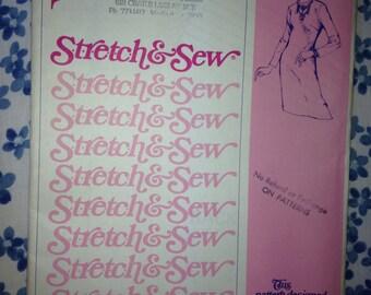 1967/1974 Stretch & Sew 1500 Pattern: Basic Dress