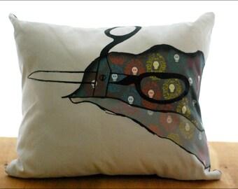 Rip Me Open Pillow