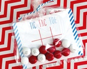 On Sale! 20% off!  Valentine Collection. TiC TAC TOE. DiGITAL DOWNLOAD. DiY Printable Design. Pinkadot Shop
