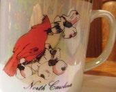 North Carolina Cardinal Coffee Mug