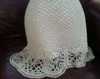 Hand made crochet dress.