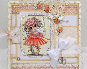 Fairy Special Tabletop Decor - Special Gift  - Home Decor Canvas
