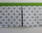 Box Pleat Valance. Custom made. Available in other collections.