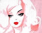 Barbie Tease, 11 x 14 print