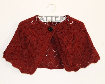 Pattern Knitted Capelet - PDF file