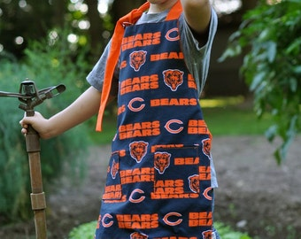 Chicago Bears Child Full Apron