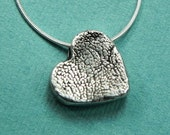 """In My Heart-Dog Paw Print Charm with 18"""" Sterling Silver Snake Chain-Christmas gift"""