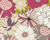 Last Piece - Coquette - Flower Bed Blush CO9200  - Pat Bravo - Art Gallery Fabrics - 1 Yard