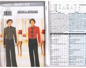 Butterick Suit Pattern 4625