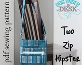 Two Zip Hipster PDF Sewing Pattern