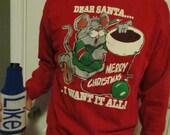 Holiday Sweatshirt size XX-Large