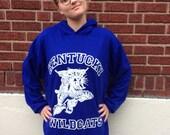 University of Kentucky hooded sweatshirt UK Wildcats