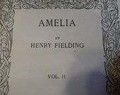 1914 publication of Amelia volume 2 by Henry Fielding