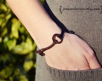 Antique Skeleton Key Bracelet