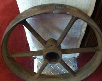 Large Metal Wheel