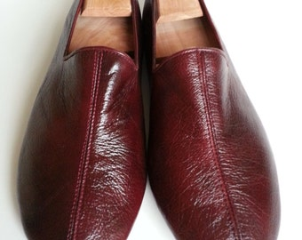 Sufi shoes ,leather slipper,stylish indoor shoes (cocoa color)