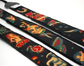 Tattoo SLR DSLR Camera Strap - Photographer Gift - Black Tattoo