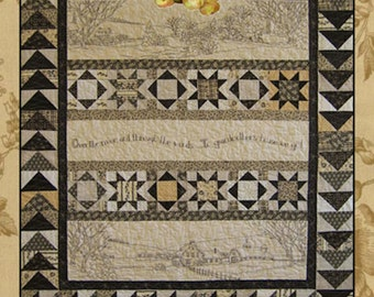 Over the River and Through the Wood Stitchery Quilt Pattern  CH 316