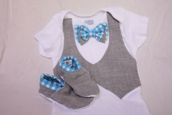 Baby boy shirt bow tie shirt baby boy photo prop by haddygrace for Baby shirt and bow tie