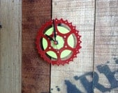 SALE --  BIKE GEAR - wall clock #8 / 50% Off