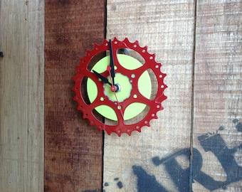 SALE --  BIKE GEAR - wall clock #8 / 50% Off
