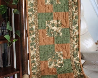 Quilted Fall Table Runner