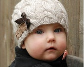 Knitting PATTERN-The Ella Hat (Toddler, Child, Adult sizes)