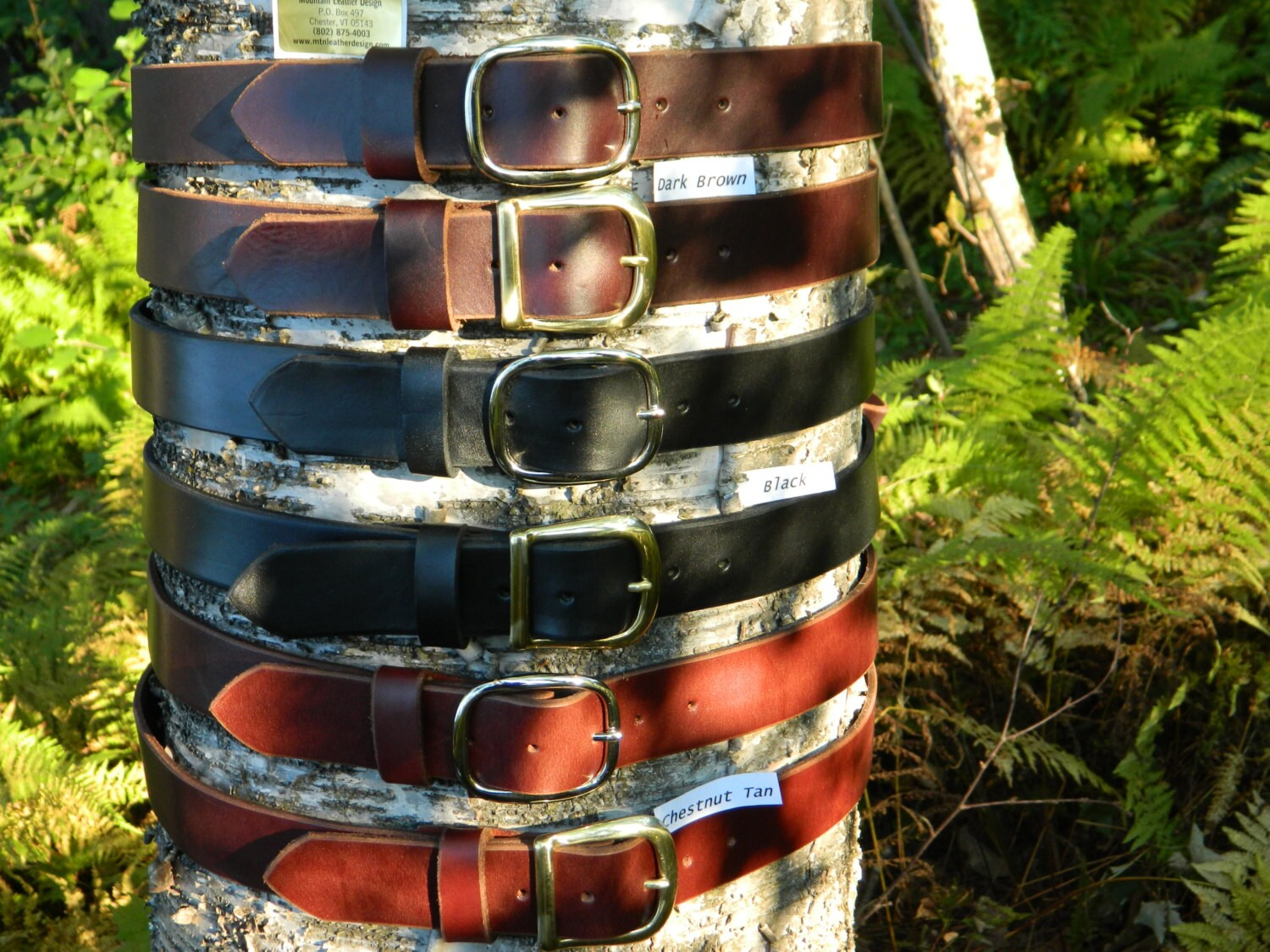 handmade thick leather belt s s 1 1 2