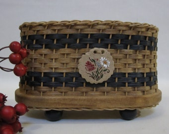 Napkin Basket / Jelly Basket / Gift Basket  Handwoven Basket