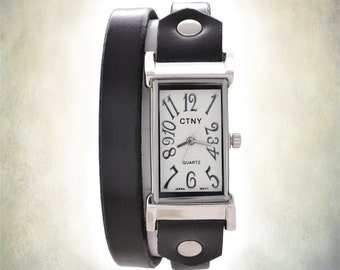 Women's Wrap Watch - Genuine Leather