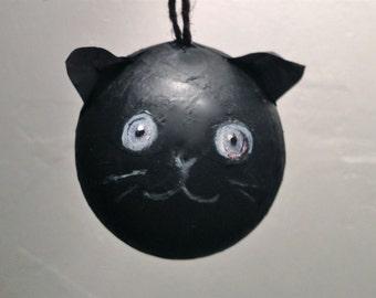 Black cat bauble