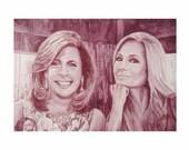 "Wine Painting Portrait - ""Kathie Lee & Hoda, The Today Show"""