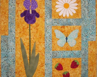 Summer Harmony Wall Hanging Quilt Pattern