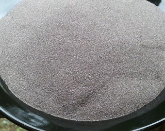 Emery sand, 5 Pounds/Cups, high quality,  loose, fine grit,  Keeps Needles Sharp. Fill your own mini pincushions.