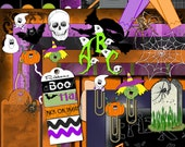12 x 12 Digital Scrapbook Kit - Halloween