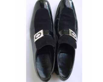 Rare 1970's men's Johnston and Murphy shoes size 9A/ AAA