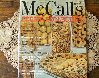Vintage McCalls Cookie Collection Softcover Book Loaded With Cookie Recipes 1981