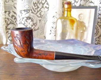 Vintage Pipe Willard Imported Briar Men's Pipe Smoking Accessory Tobacco Pipe Man Cave Guy Stuff Vintage 1960s