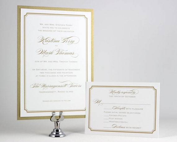 Ready To Print Wedding Invitations: Printable Wedding Invitations Simple Wedding By