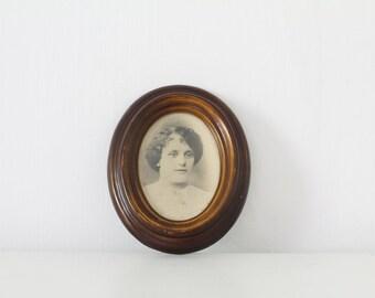 Vintage Victorian antique style small portrait photograph