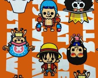 ONE PIECE  fabric half yard Japanese anime