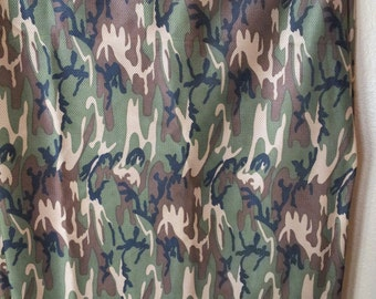 Camouflage Micro Sport Fabric  60 Inches Wide